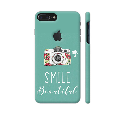 Smile Beautiful With Camera iPhone 7 Plus Logo Cut Cover | Artist: Disha
