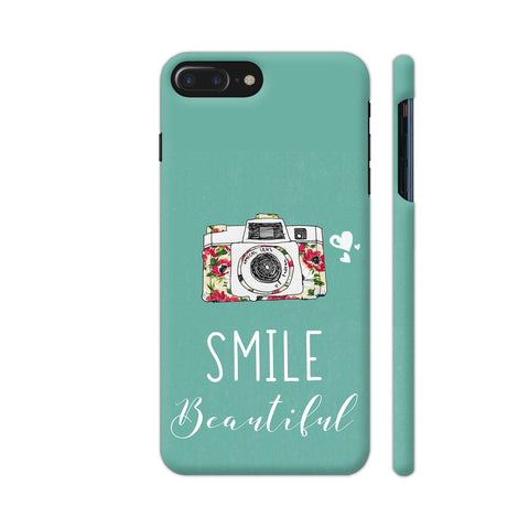 Smile Beautiful With Camera iPhone 7 Plus Cover | Artist: Disha