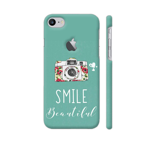 Smile Beautiful With Camera iPhone 7 Logo Cut Cover | Artist: Disha