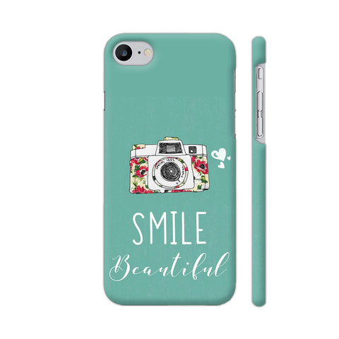 Smile Beautiful With Camera iPhone 7 Cover | Artist: Disha