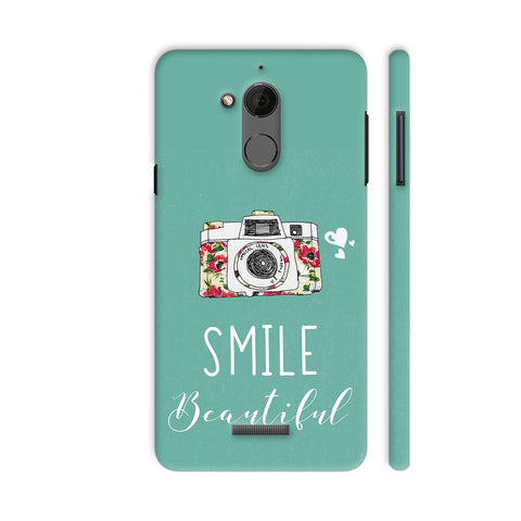 Smile Beautiful With Camera Coolpad Note 5 Cover | Artist: Disha