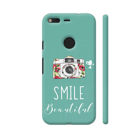 Smile Beautiful With Camera Google Pixel Cover | Artist: Disha