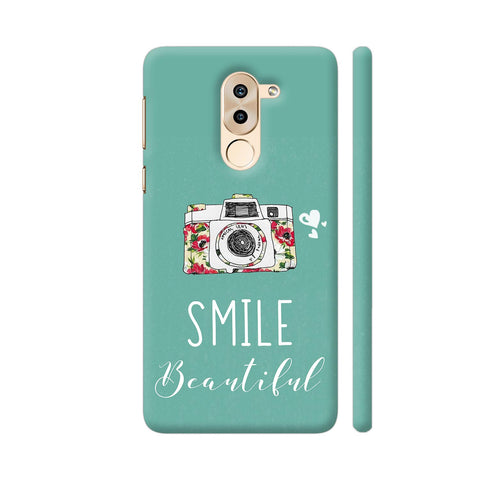 Smile Beautiful With Camera Huawei Honor 6X Cover | Artist: Disha