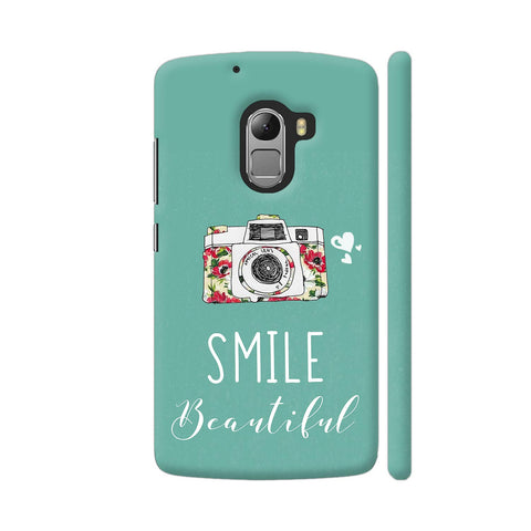 Smile Beautiful With Camera Lenovo K4 Note Cover | Artist: Disha