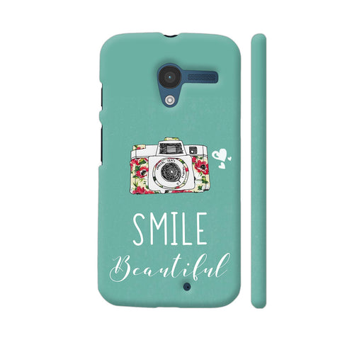Smile Beautiful With Camera Moto X1 Cover | Artist: Disha