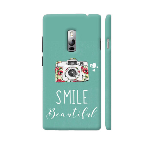 Smile Beautiful With Camera OnePlus 2 Cover | Artist: Disha