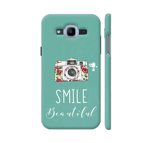 Smile Beautiful With Camera Samsung Galaxy J2 (2016) Cover | Artist: Disha