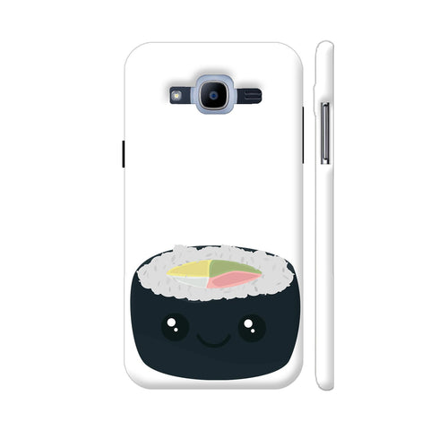Smiling Sushi With Vegetables Samsung Galaxy J2 Pro Cover | Artist: Torben