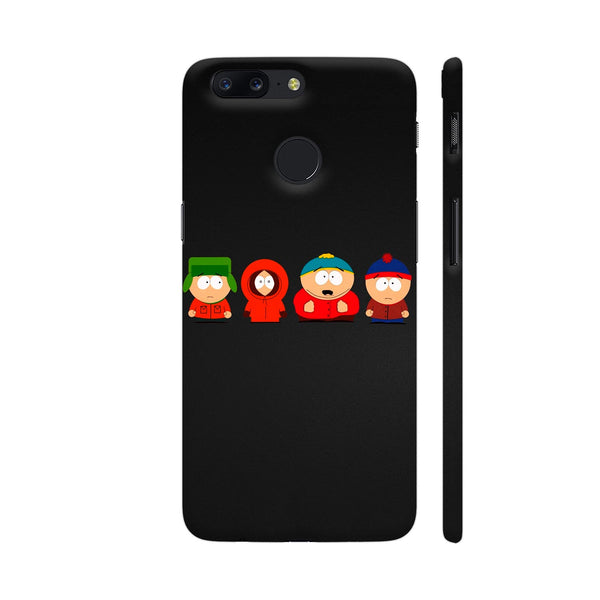 South Park Kids On Black OnePlus 5T Cover | Artist: ianurag