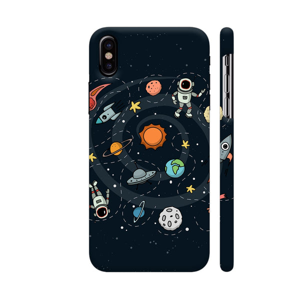 Space iPhone XS Cover | Artist: Abhinav