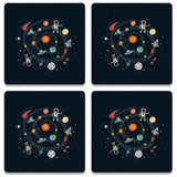 Space Coaster (Set of 4)