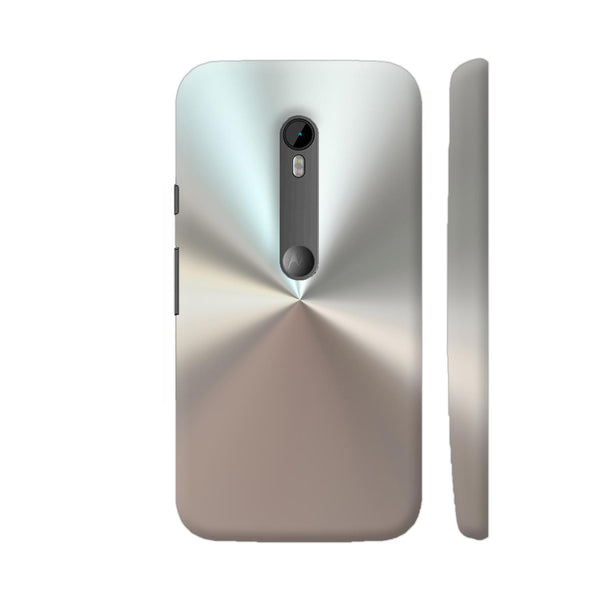 Stainless Steel Print Motorola Moto G Turbo Edition Case