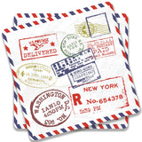 Stamps Coaster (Set of 2)