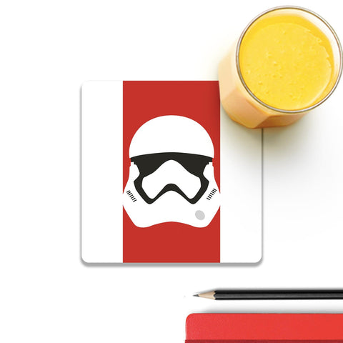 Star Wars Darth Vader On Red Coaster