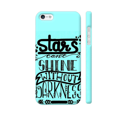 Stars Can't Shine Without Darkness 2 iPhone 5 / 5s Cover | Artist: Vanshika Kundaliya