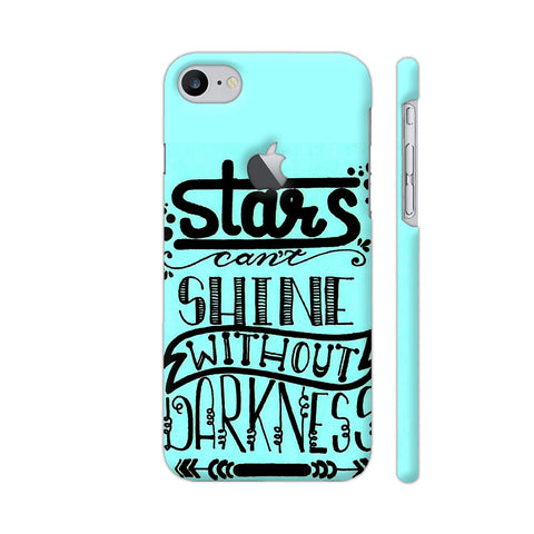 Stars Can't Shine Without Darkness 2 iPhone 8 Logo Cut Cover | Artist: Vanshika Kundaliya