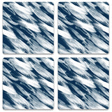 Strokes Blue Coaster (Set of 4)