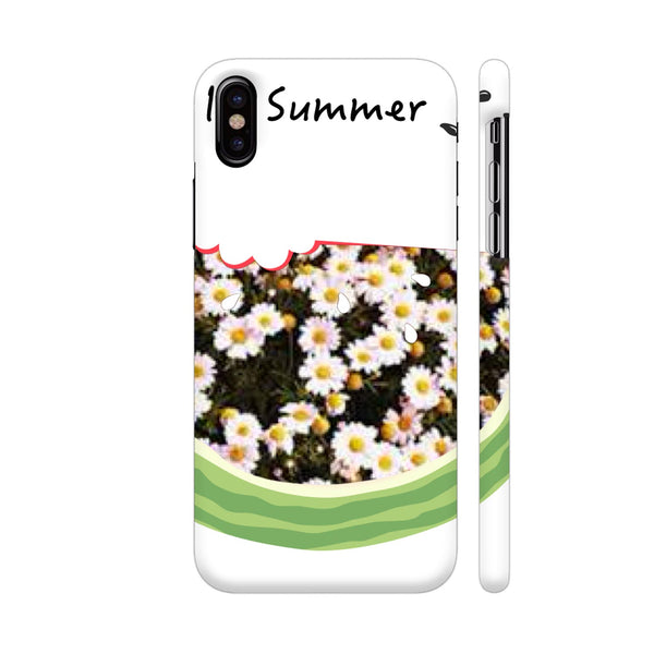 Summer Love iPhone X Cover | Artist: Aanyaajolimoi