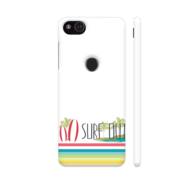 Surf Out With Multicolor Stripes Google Pixel 3 XL Cover | Artist: Urvashi