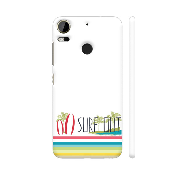 Surf Out With Multicolor Stripes HTC Desire 10 Pro Cover | Artist: Urvashi