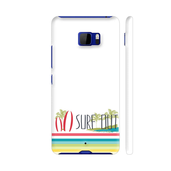Surf Out With Multicolor Stripes HTC U Ultra Cover | Artist: Urvashi
