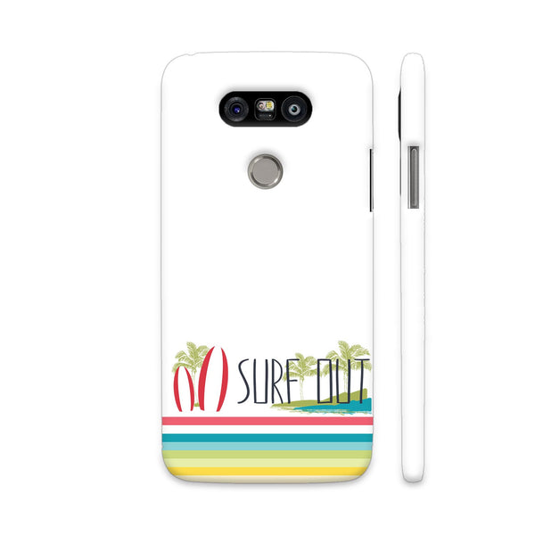 Surf Out With Multicolor Stripes LG G5 Cover | Artist: Urvashi
