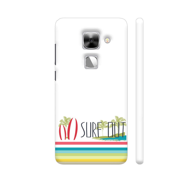 Surf Out With Multicolor Stripes LeEco Le Max 2 Cover | Artist: Urvashi