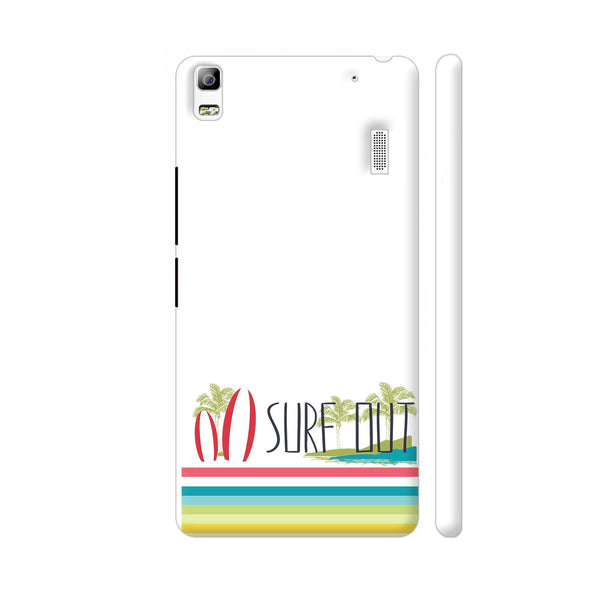 Surf Out With Multicolor Stripes Lenovo A7000 Cover | Artist: Urvashi