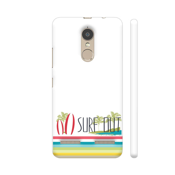 Surf Out With Multicolor Stripes Lenovo K6 Power Cover | Artist: Urvashi