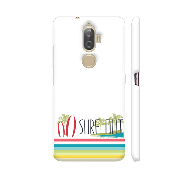 Surf Out With Multicolor Stripes Lenovo K8 Plus Cover | Artist: Urvashi