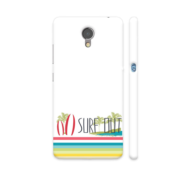 Surf Out With Multicolor Stripes Lenovo P2 Cover | Artist: Urvashi