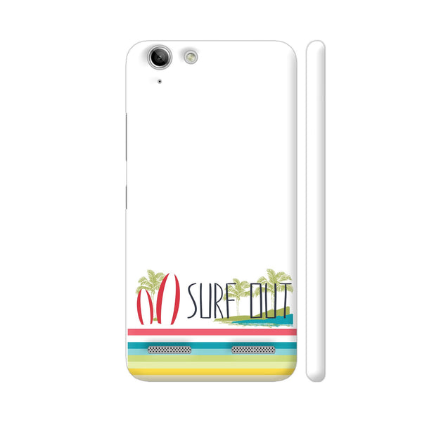 Surf Out With Multicolor Stripes Lenovo Vibe K5 / K5 Plus Cover | Artist: Urvashi