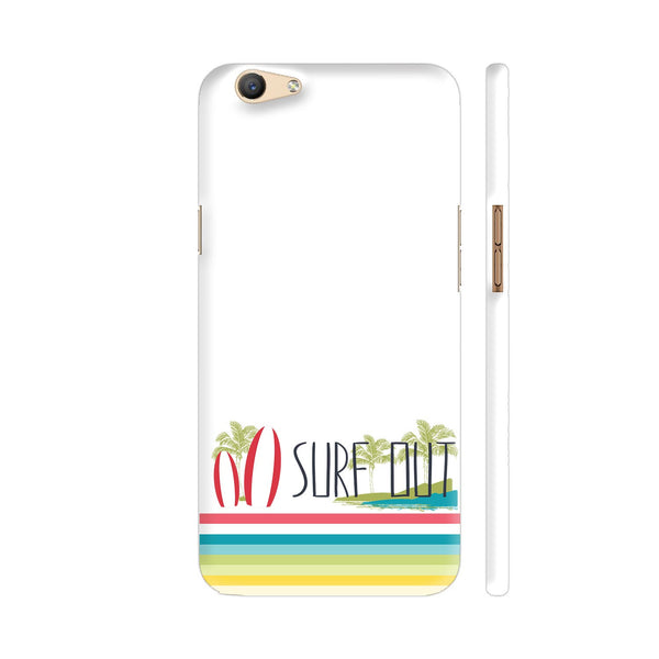 Surf Out With Multicolor Stripes Oppo F1s Cover | Artist: Urvashi