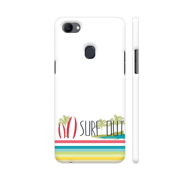Surf Out With Multicolor Stripes Oppo F7 Cover | Artist: Urvashi