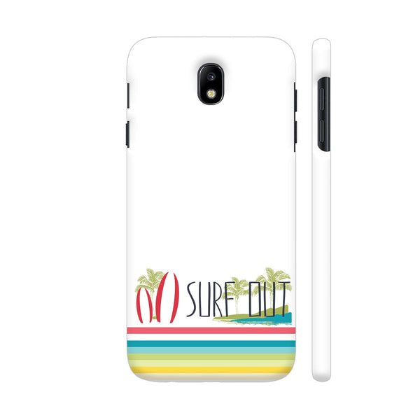 Surf Out With Multicolor Stripes Samsung J7 Pro Cover | Artist: Urvashi