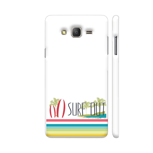 Surf Out With Multicolor Stripes Samsung Galaxy On7 Pro Cover | Artist: Urvashi