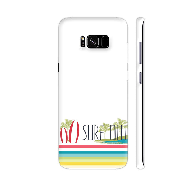 Surf Out With Multicolor Stripes Samsung Galaxy S8+ Cover | Artist: Urvashi