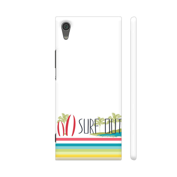 Surf Out With Multicolor Stripes Xperia XA1 Cover | Artist: Urvashi