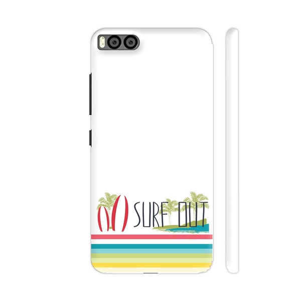 Surf Out With Multicolor Stripes Xiaomi Mi 6 Cover | Artist: Urvashi