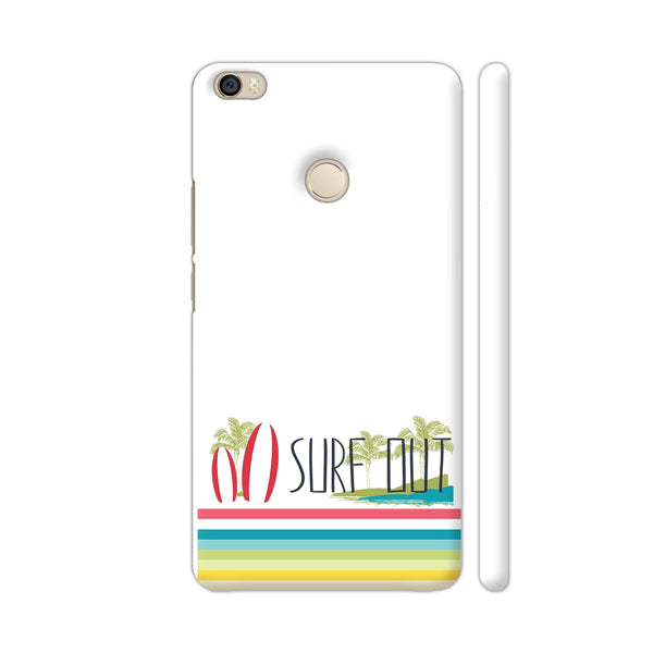 Surf Out With Multicolor Stripes Xiaomi Mi Max 2 Cover | Artist: Urvashi