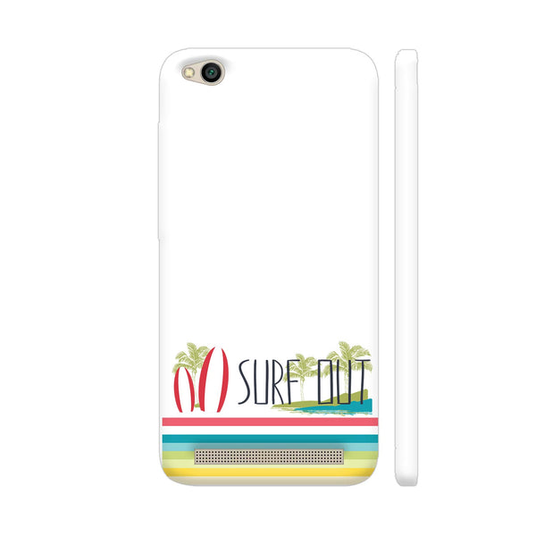 Surf Out With Multicolor Stripes Redmi 5A Cover | Artist: Urvashi