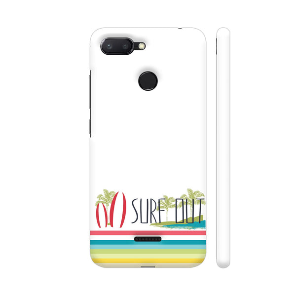 Surf Out With Multicolor Stripes Redmi 6 Cover | Artist: Urvashi