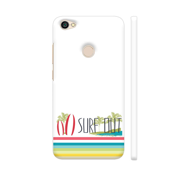 Surf Out With Multicolor Stripes Redmi Y1 Cover | Artist: Urvashi