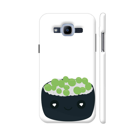Sushi With Green Caviar Samsung Galaxy J2 Pro Cover | Artist: Torben