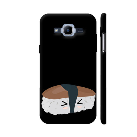 Sushi With Rice And Mushroom Samsung Galaxy J2 Pro Cover | Artist: Torben