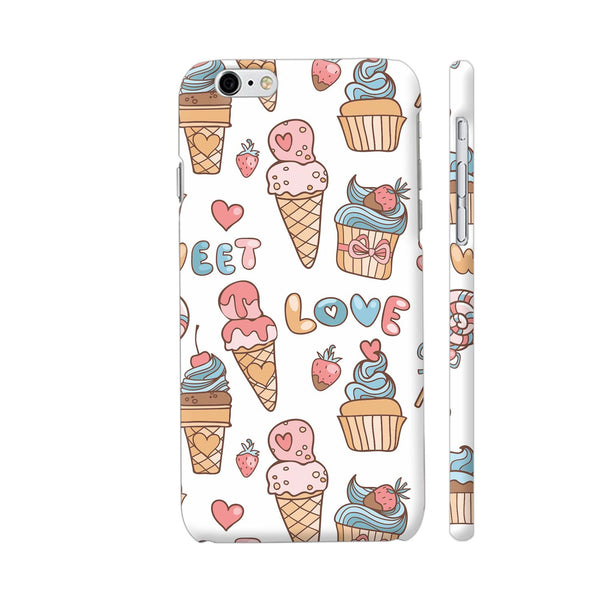 Sweet Love Cup Cakes Ice Cream iPhone 6 / 6s Cover | Artist: Astha