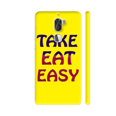 Take Eat Easy On Yellow Coolpad Cool 1 / Cool1 Dual Cover | Artist: Malls