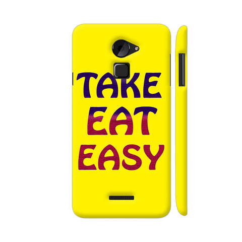 Take Eat Easy On Yellow Coolpad Note 3 Lite Cover | Artist: Malls