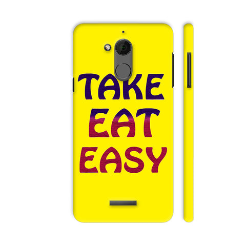 Take Eat Easy On Yellow Coolpad Note 5 Cover | Artist: Malls