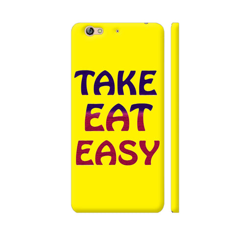 Take Eat Easy On Yellow Gionee S6 Cover | Artist: Malls